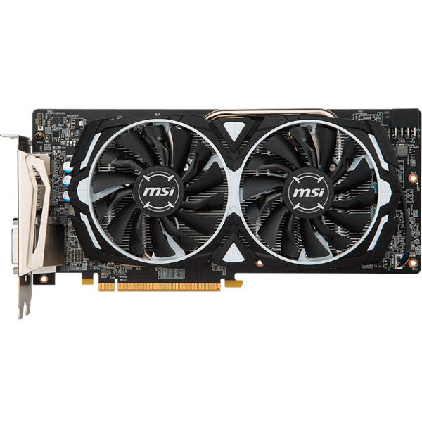 Видеокарта MSI Radeon  RX 580 ARMOR 8G OC купить в смоленске msi x460dx