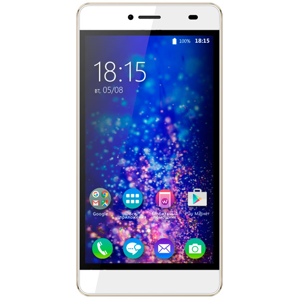 Смартфон BQ mobile Magic LTE Pearl White (BQS-5070) bq bq bqs 3501 delhi красный 0 512гб 2 sim