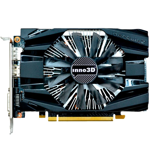 Видеокарта inno3D GeForce GTX 1060 6GB Compact видеокарта asus geforce gtx 1060 1620mhz pci e 3 0 6144mb 8208mhz 192 bit dvi hdmi hdcp rog strix gtx1060 o6g gaming