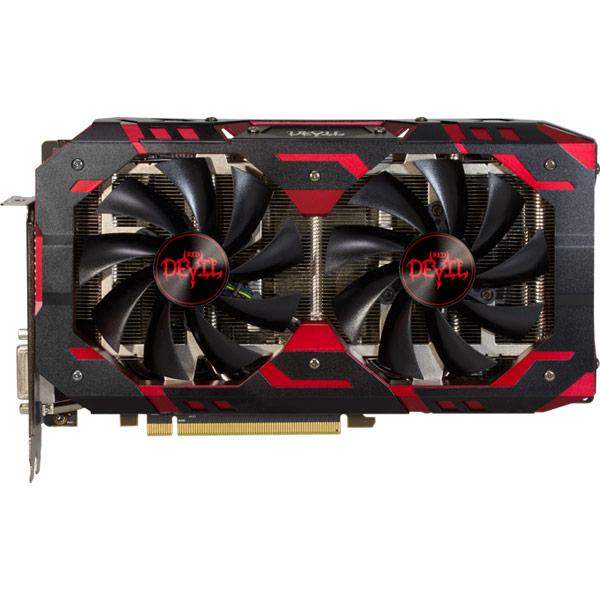 Видеокарта PowerColor Red Devil Radeon RX 580 8GB GDDR5 видеокарта пк powercolor radeon r7 240