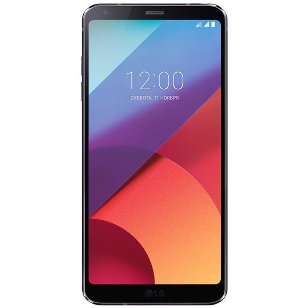 Смартфон LG G6a Black (H870S) tampax cef тампоны женские гигиенические с аппликатором super duo 16 шт