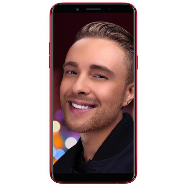 Смартфон Oppo F5 64Gb+6Gb Red (CPH1727) смартфон oppo a57