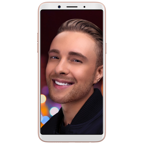 Смартфон Oppo F5 Youth 32Gb+3Gb Gold (CPH1725) OPPO Смартфон Oppo F5 Youth 32Gb+3Gb Gold (CPH1725) настольный компьютер hp 290 g1 microtower 2rt88es intel core i3 7100 3 9 ghz 4096mb 1000gb dvd rw intel hd graphics dos