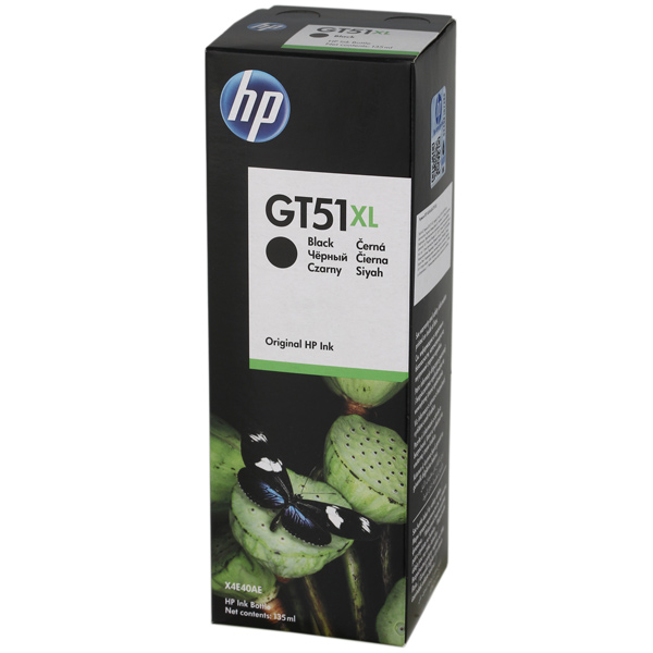 Картридж для струйного принтера HP GT51XL X4E40AE Black картридж для принтера hp 88xl c9396ae black