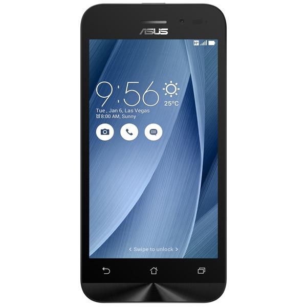 Смартфон ASUS ZenFone Go ZB452KG 8Gb Grey (6J107RU) смартфон asus zenfone go zb450kl silver blue android 6 0 marshmallow msm8916 1200mhz 4 5 854x480 1024mb 8gb 4g lte 3g edge hsdpa hspa [90ax0096 m00220]
