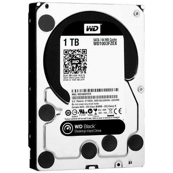 Жесткий диск WD 1TB Black (WD1003FZEX) hdd диск