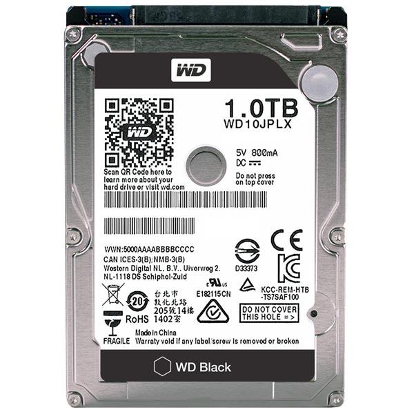 Жесткий диск WD 1TB Black (WD10JPLX)