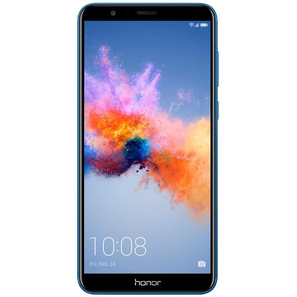 Смартфон Honor 7Х 64Gb Blue (BND-L21) смартфон honor 9 64gb blue stf l09