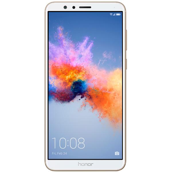 Смартфон Honor 7Х 64Gb Gold (BND-L21) смартфон huawei honor 6x premium 64gb gold