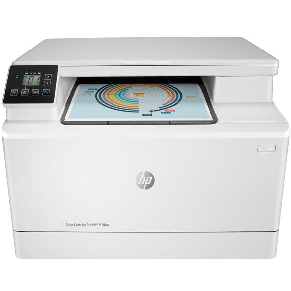 Лазерное МФУ (цветное) HP Color LaserJet Pro M180n (T6B70A)