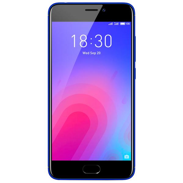 Смартфон Meizu M6 16Gb+2Gb Blue (M711H) смартфон meizu m6 16gb m711h серебристый