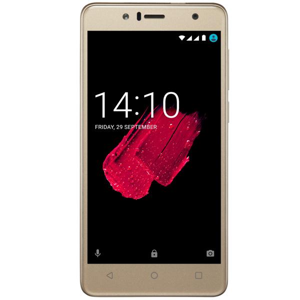 Смартфон Prestigio Muze B5 Duo Gold (PSP5520) планшет prestigio muze 3708 3g pmt3708