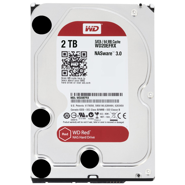 Жесткий диск WD 2TB Red (WD20EFRX)