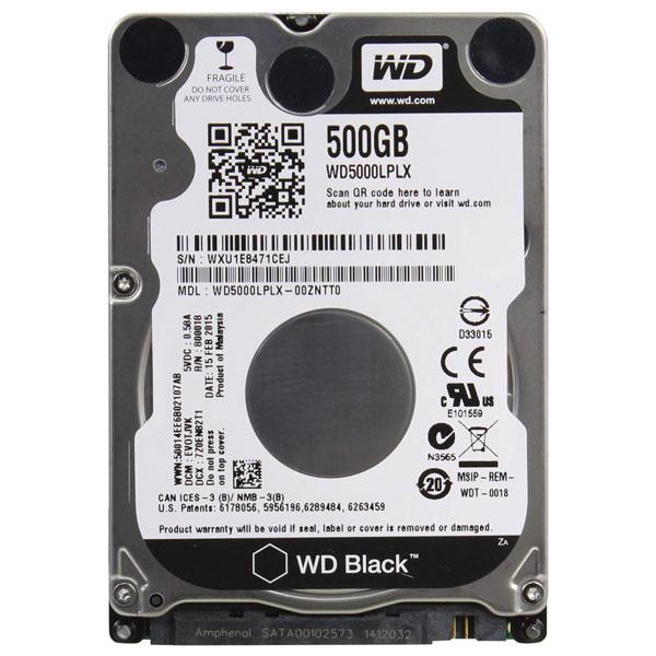 Жесткий диск WD 500GB Black (WD5000LPLX)