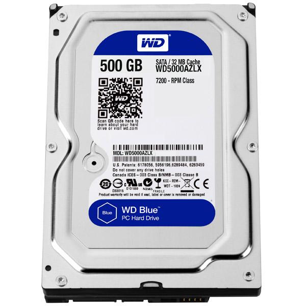 Жесткий диск WD 500GB Blue (WD5000AZLX)