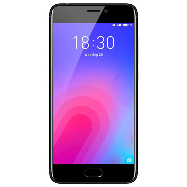 Смартфон Meizu M6 32Gb+3Gb Black (M711H)