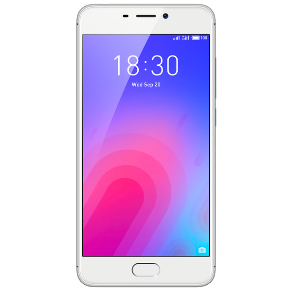 Смартфон Meizu M6 32Gb+3Gb Silver (M711H) смартфон bqs 5050 strike selfie grey mediatek mt6580 1 3 8 gb 1 gb 5 1280x720 dualsim 3g bt android 6 0