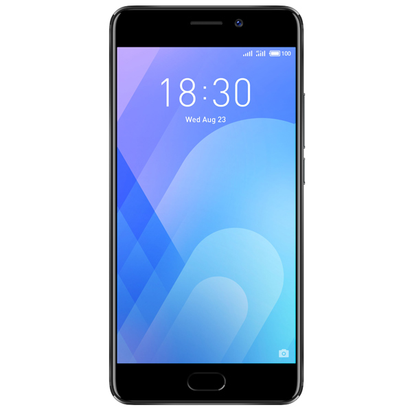 Смартфон Meizu M6 Note 16Gb+3Gb Black (M721H) смартфон meizu m6 note 32gb 3gb gold m721h