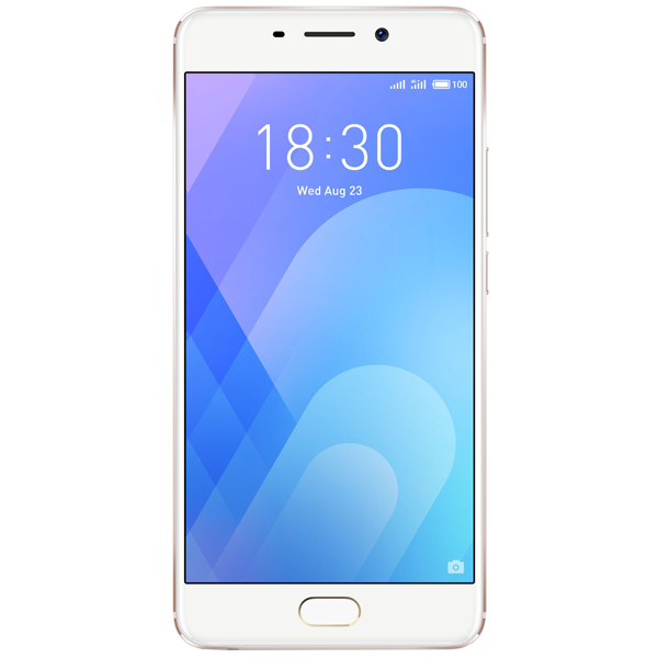Смартфон Meizu M6 Note 16Gb+3Gb Gold (M721H) смартфон meizu m6 note черный 5 5 32 гб lte wi fi gps