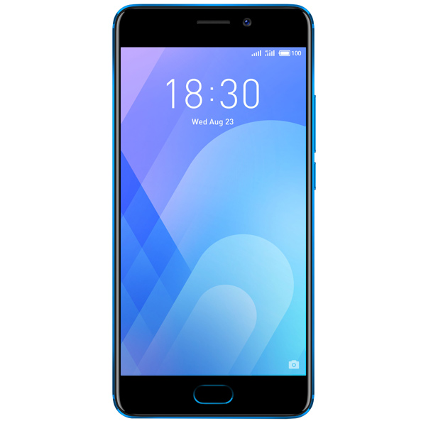 Смартфон Meizu M6 Note 32Gb+3Gb Blue (M721H) смартфон meizu m6 note черный 5 5 32 гб lte wi fi gps