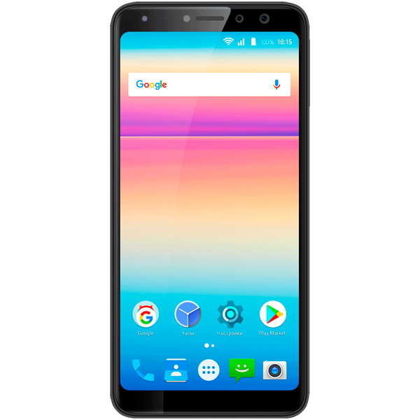 Смартфон BQ mobile Space X Black (BQ-5700L) смартфон bq mobile bq 5202 space lite black
