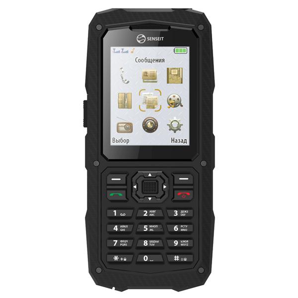 Мобильный телефон Senseit P210 карты памяти