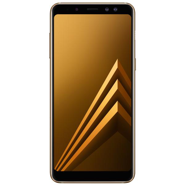 Смартфон Samsung Galaxy A8 (2018) Gold (SM-A530F) смартфон samsung galaxy j7 2016 sm j710fn gold
