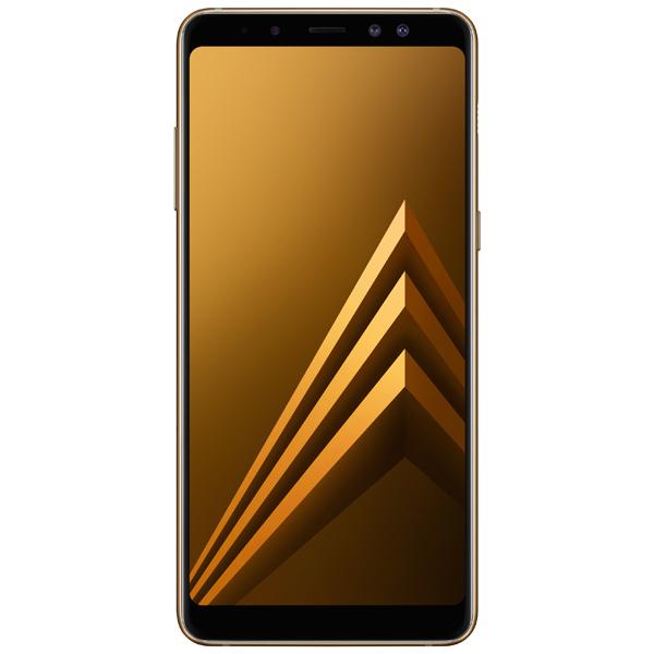 Смартфон Samsung Galaxy A8+ (2018) Gold (SM-A730F) смартфон samsung galaxy j7 2016 sm j710fn gold