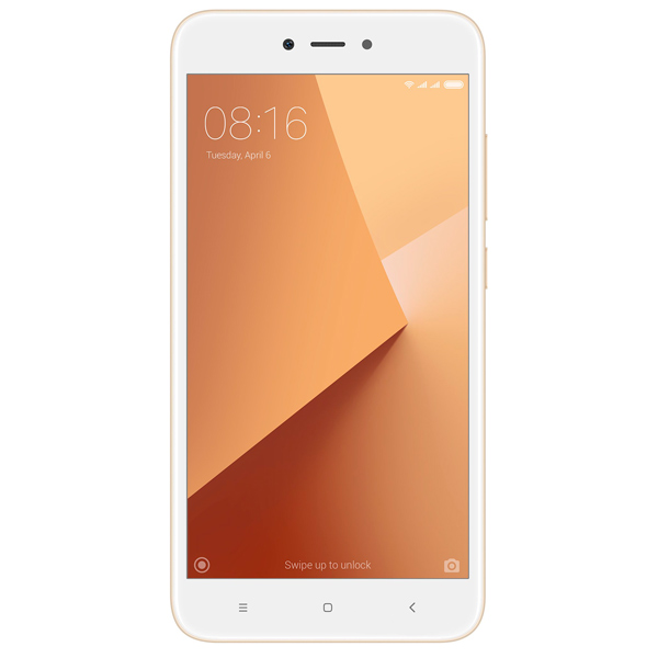 Смартфон Xiaomi Redmi Note 5A Prime 32GB Gold смартфон xiaomi redmi note 5a prime 32gb grey