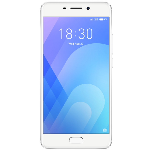 Смартфон Meizu M6 Note 16Gb+3Gb Silver (M721H) смартфон meizu m5 note белый золотистый 5 5 16 гб lte wi fi gps 3g