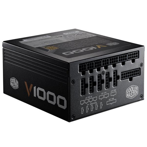 Блок питания для компьютера Cooler Master V1000 (RSA00-AFBAG1-EU)
