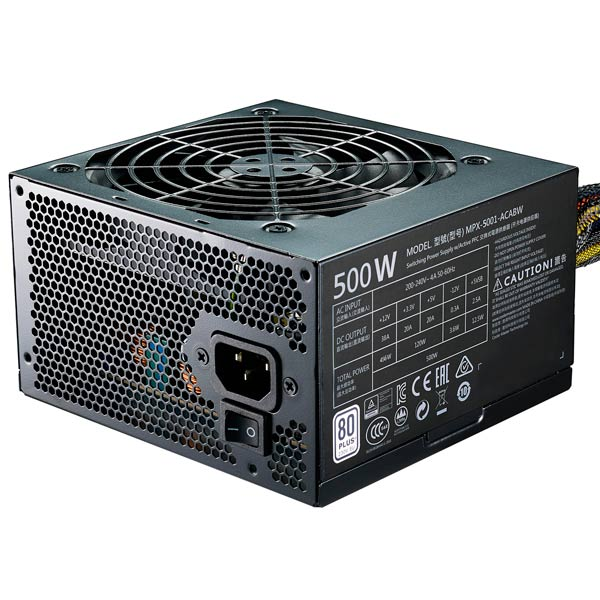Блок питания для компьютера Cooler Master MasterWatt Lite 500 230V (MPX-5001-ACABW-ES)