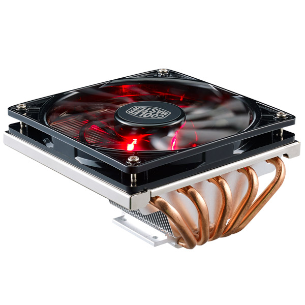 Кулер для процессора Cooler Master GeminII M5 LED (RR-T520-16PK) thermalright le grand macho rt computer coolers amd intel cpu heatsink radiatorlga 775 2011 1366 am3 am4 fm2 fm1 coolers fan