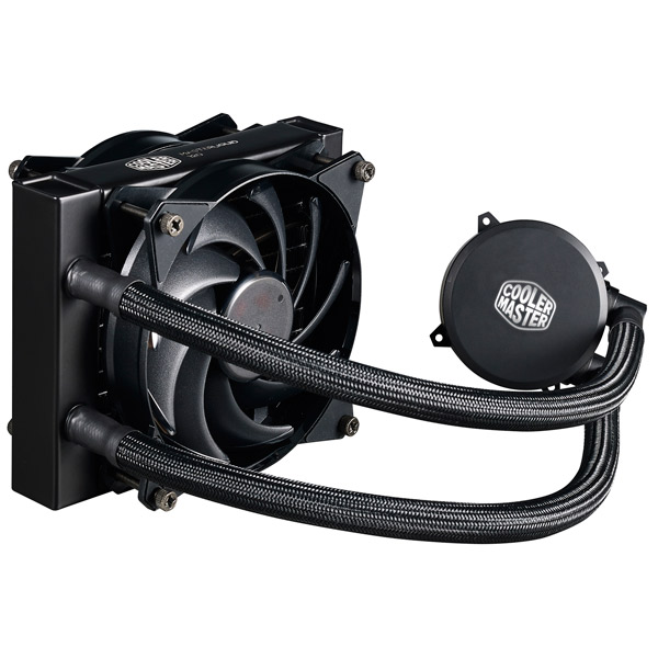 Кулер для процессора Cooler Master MasterLiquid 120 (MLX-D12M-A20PW-R1) thermalright le grand macho rt computer coolers amd intel cpu heatsink radiatorlga 775 2011 1366 am3 am4 fm2 fm1 coolers fan