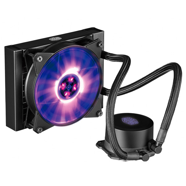 Кулер для процессора Cooler Master ML120L RGB (MLW-D12M-A20PC-R1) thermalright le grand macho rt computer coolers amd intel cpu heatsink radiatorlga 775 2011 1366 am3 am4 fm2 fm1 coolers fan