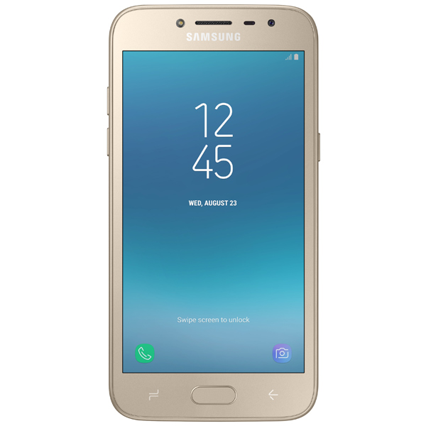 Смартфон Samsung Galaxy J2 (2018) Gold (SM-J250F) смартфон samsung galaxy j7 2016 sm j710fn gold
