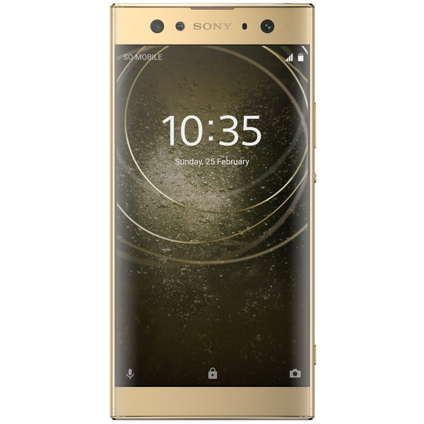 Смартфон Sony Xperia XA2 Ultra DS Gold (H4213) sony xperia x performance rose gold