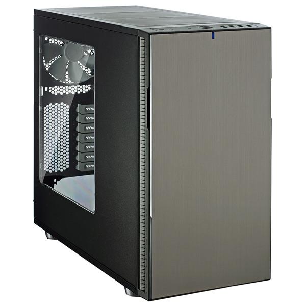 Корпус для компьютера Fractal Design FD-CA-DEF-R5-TI-W фрактальный диффузор cold ray fractal 7 red комплект 3 шт