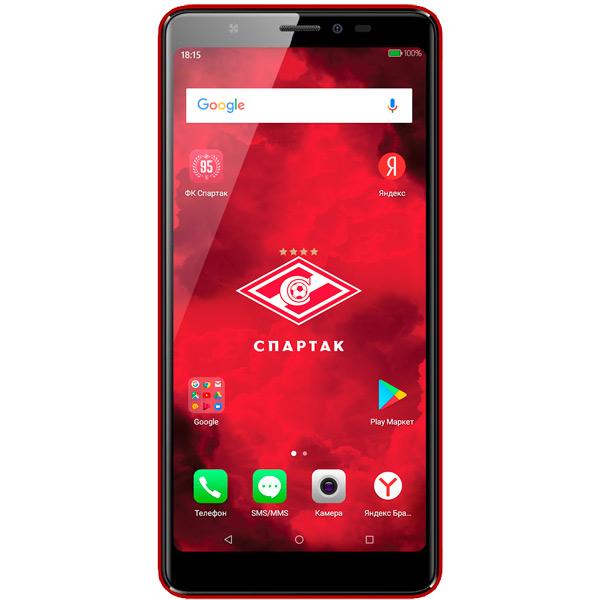 Смартфон BQ mobile BQ-5500L Advance LTE Red Спартак-Москва карты памяти
