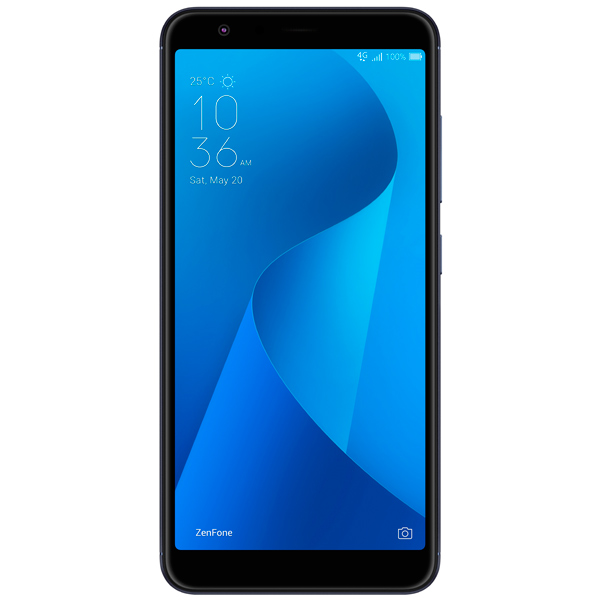 Смартфон ASUS ZenFone Max Plus M1 ZB570TL 64Gb Black (4A070RU) смартфон asus zenfone max plus zf4 zb570tl 32gb black