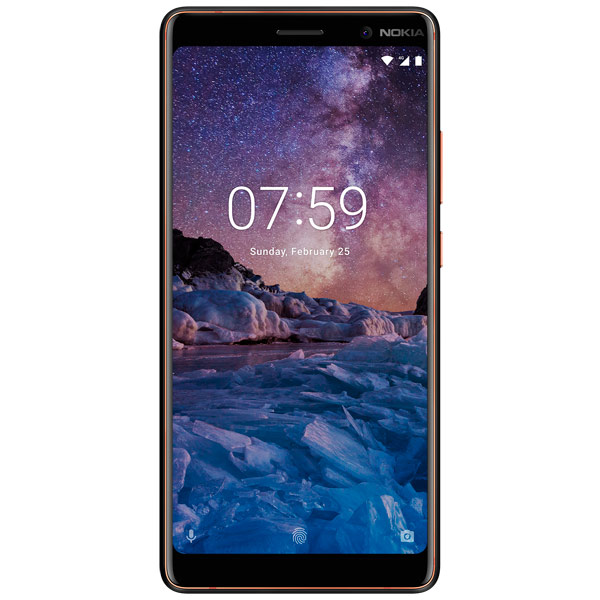 Смартфон Nokia 7 Plus Black (TA-1046) motorola pulse 2 wired black