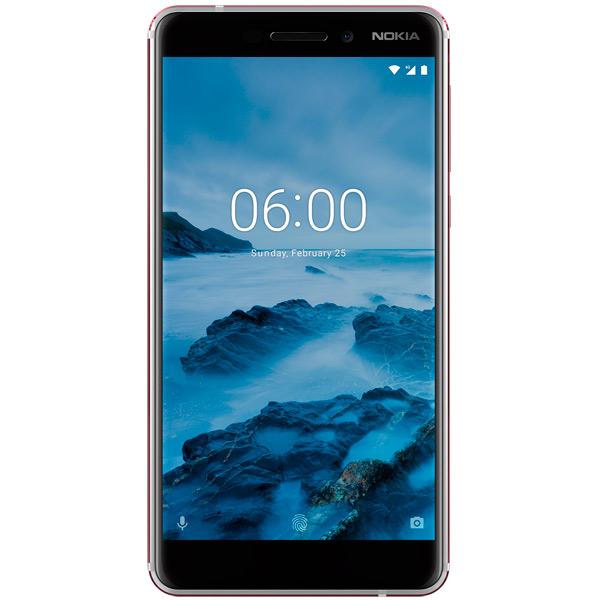 Смартфон Nokia 6.1 White (TA-1043) смартфон nokia 6 1 2018 dual sim ta 1043 3 32gb white белый 11pl2w01a02
