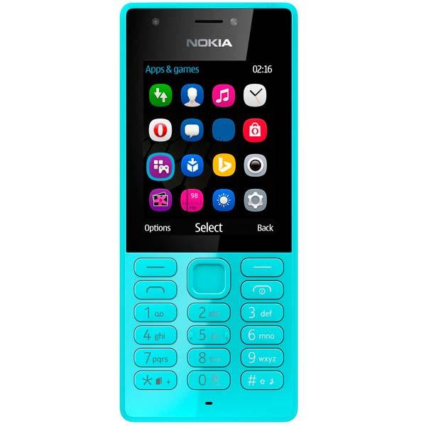 Мобильный телефон Nokia 216 Dual SIM Blue (RM-1187) смартфон nokia 8 dual sim polished blue