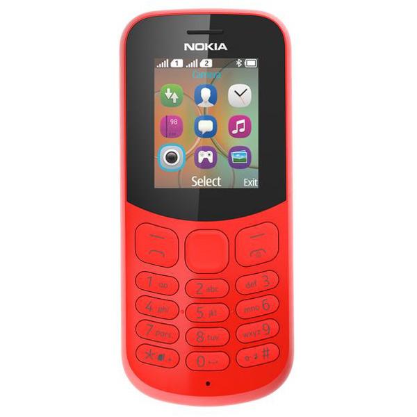 Мобильный телефон Nokia 130 DS Red (TA -1017) смартфон nokia 8 ds cooper ta 1004