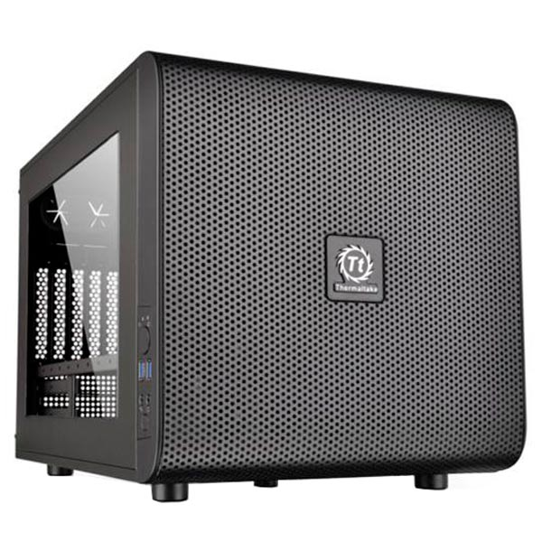 Корпус для компьютера Thermaltake Core V21 Black (CA-1D5-00S1WN-00) 21 5 221b7qpjkeb 00 black с поворотом экрана