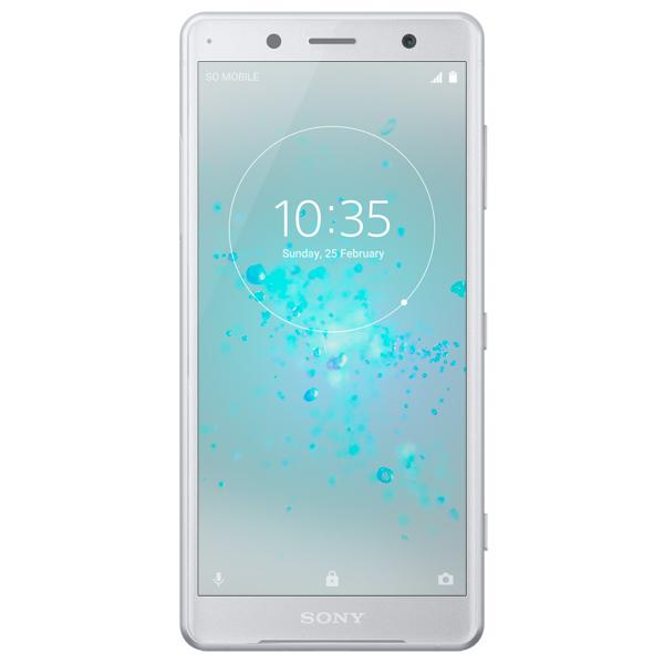 Смартфон Sony Xperia XZ2 Compact White Silver DS (H8324) смартфон sony xperia xz1 compact white silver g8441