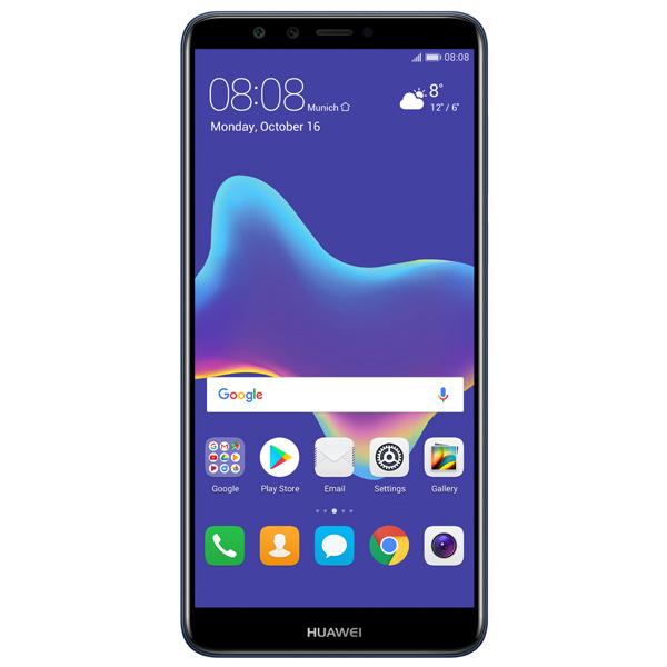 da44ecb858e1 Купить Смартфон Huawei Y9 2018 Blue (FLA-LX1) в каталоге интернет ...
