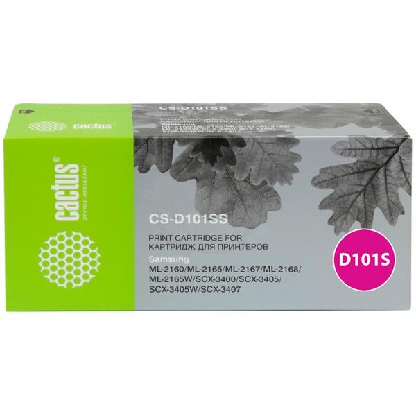 Картридж для лазерного принтера Cactus CS-D101SS Black для Samsung ML-2160/2165/2167/216