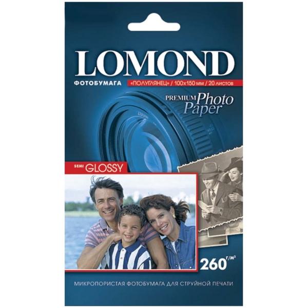 Фотобумага для принтера Lomond — 1103302