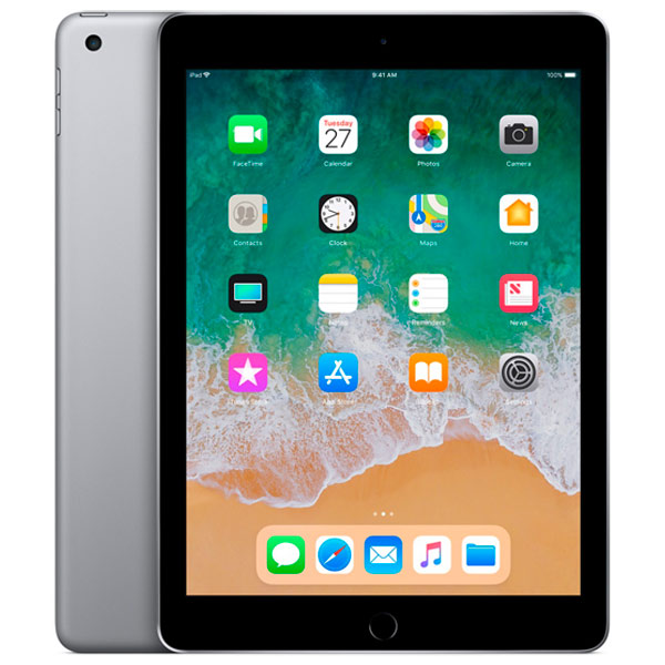 Планшет Apple iPad (2018) 32GB Wi-Fi Space Grey (MR7F2RU/A) ss94a1f sensor mr li